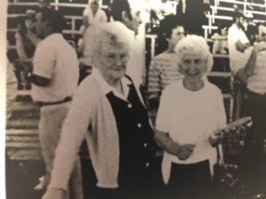 Margaret Emery and Joyce Cowie