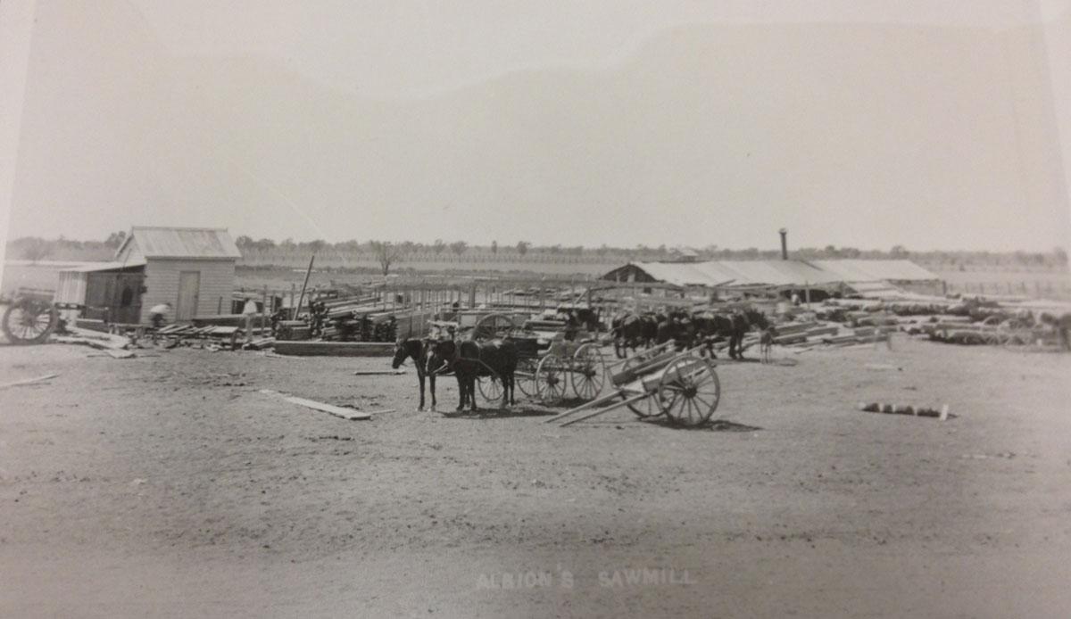Albion's Warrego sawmill Cunnamulla