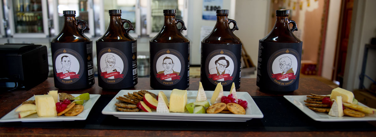 Cunnamulla Characters Brewed Craft Beer at Club Boutique Hotel Cunnamulla