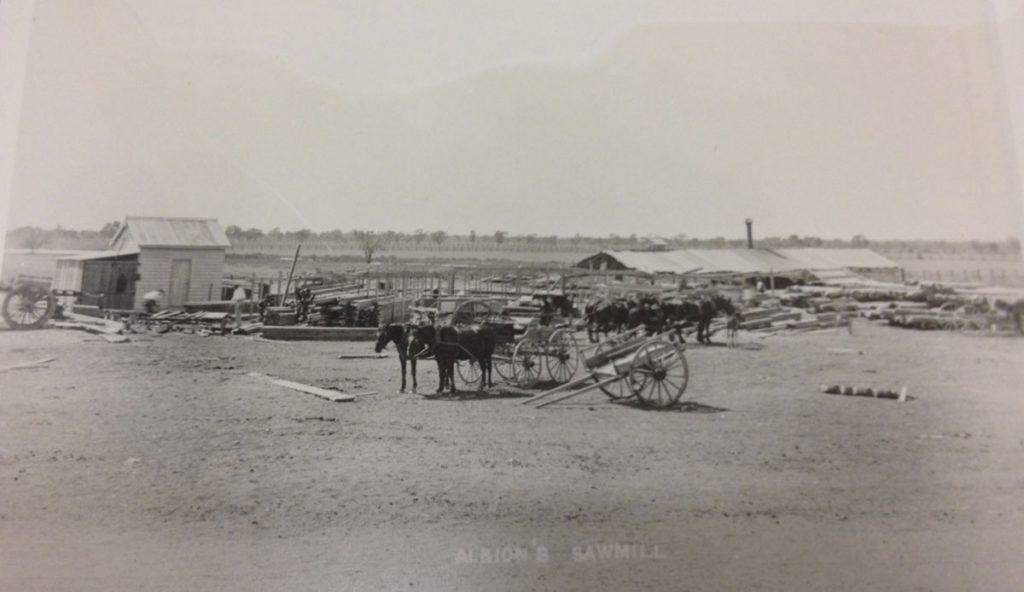Albions Warrego Sawmill Cunnamulla 1895