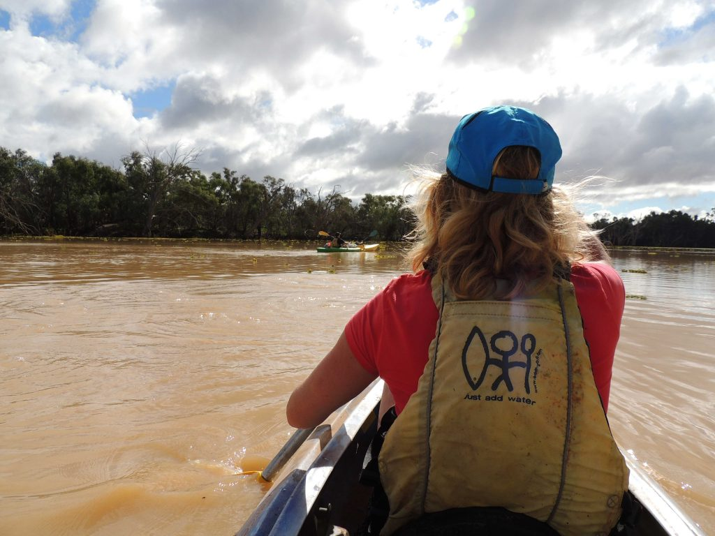 Cunnamulla Warrego River Kayaking Easter